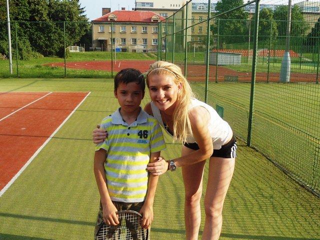 Na třebešíně tenis